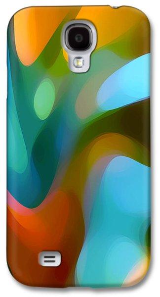 Tree Light 3 Galaxy S4 Case by Amy Vangsgard