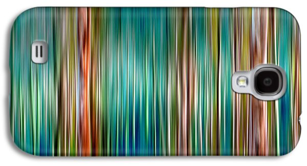 Tree Line Galaxy S4 Case by Az Jackson