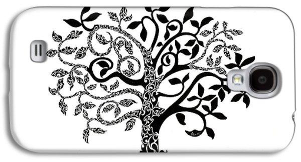 Tree Of Life Galaxy S4 Case by Anushree Santhosh