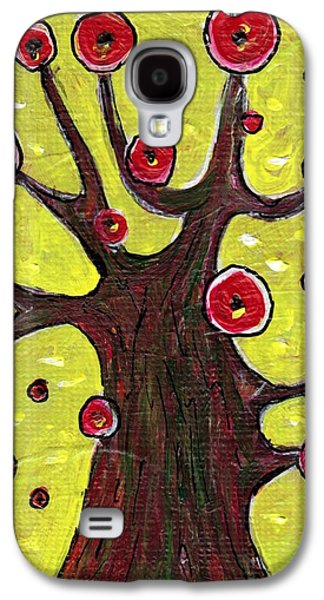 Abstract Nature Jewelry Galaxy S4 Cases - Tree Sentry Galaxy S4 Case by Anastasiya Malakhova