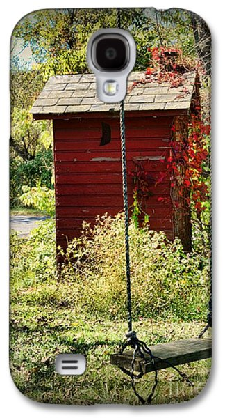 Tree Swing By The Outhouse Galaxy S4 Case by Paul Ward