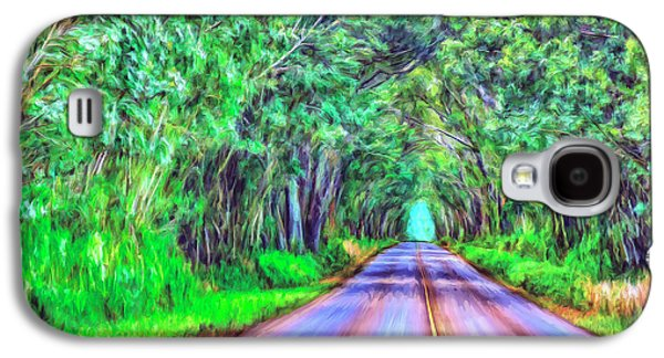 Tree Tunnel Kauai Galaxy S4 Case