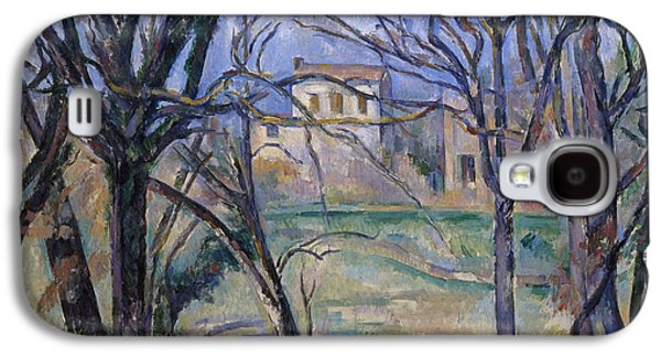 Trees And Houses, 1885-86 Galaxy S4 Case by Paul Cezanne