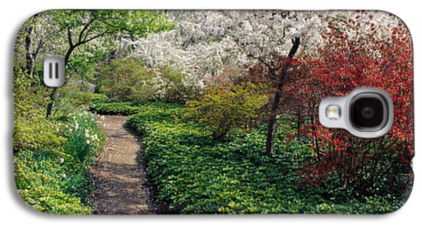 Trees In A Garden, Garden Of Eden Galaxy S4 Case by Panoramic Images