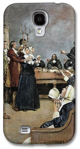 Trial Of Two Witches,salem Galaxy S4 Case by Granger