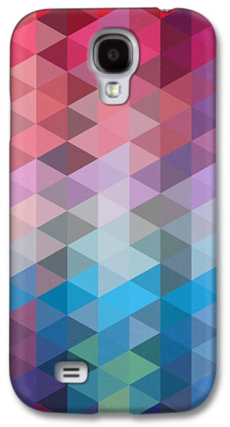 Triangles Galaxy S4 Case by Mark Ashkenazi