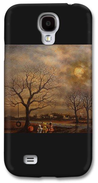 Trick-or-treat Galaxy S4 Case by Tom Shropshire