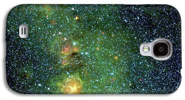 Trifid Nebula Galaxy S4 Case by Nasa/jpl-caltech/ucla