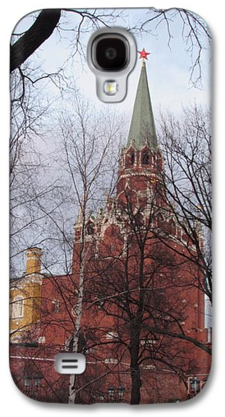 Trinity Tower At Dusk Galaxy S4 Case by Anna Yurasovsky
