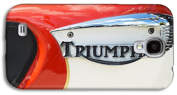 Triumph Tiger 90 Tank Badge Galaxy S4 Case by Tim Gainey