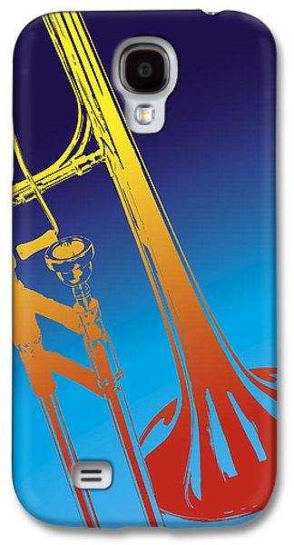 Trombone Galaxy S4 Case - Trombone by Daniel Troy