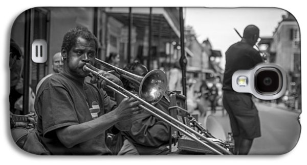 Trombone In New Orleans 2 Galaxy S4 Case by David Morefield