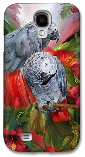 Tropic Spirits - African Greys Galaxy S4 Case