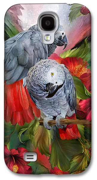 Tropic Spirits - African Greys Galaxy S4 Case