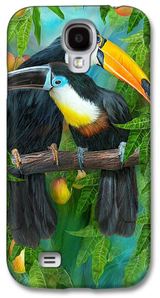Tropic Spirits - Toucans Galaxy S4 Case
