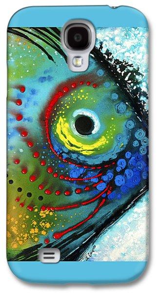 Tropical Fish - Art By Sharon Cummings Galaxy S4 Case by Sharon Cummings