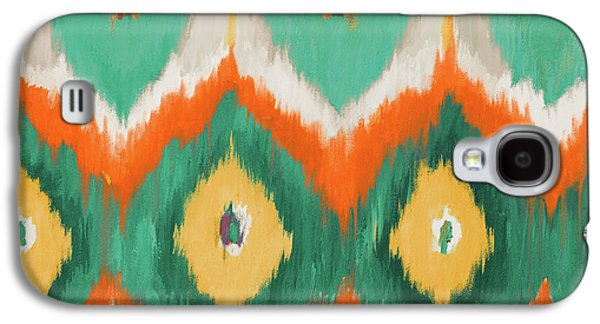 Tropical Ikat II Galaxy S4 Case by Patricia Pinto