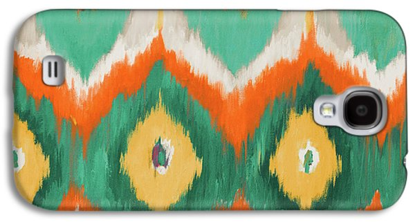 Beach Galaxy S4 Case - Tropical Ikat II by Patricia Pinto