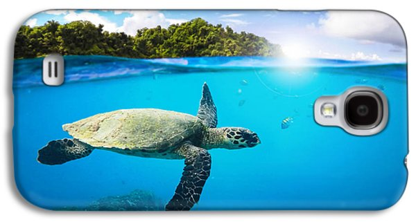 Tropical Paradise Galaxy S4 Case by Nicklas Gustafsson