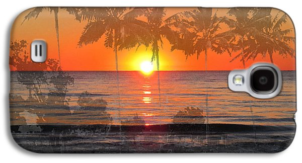 Tropical Spirits - Palm Tree Art By Sharon Cummings Galaxy S4 Case