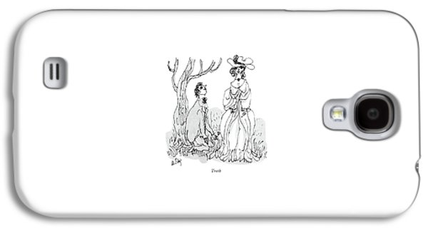 Troth Galaxy S4 Case by William Steig