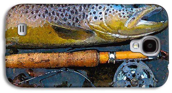 Trout On Fly Galaxy S4 Case