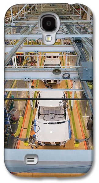 Truck Assembly Production Line Galaxy S4 Case by Jim West