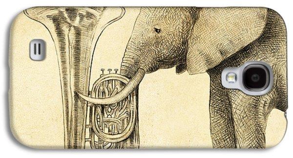 Tuba Galaxy S4 Case by Eric Fan
