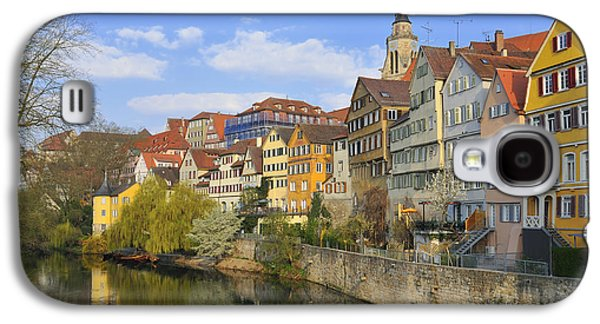 Tuebingen Neckarfront With Beautiful Old Houses Galaxy S4 Case