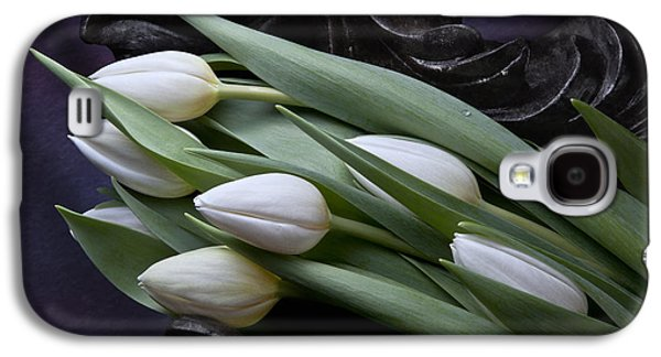 Tulip Galaxy S4 Case - Tulips Laying In Wait by Tom Mc Nemar