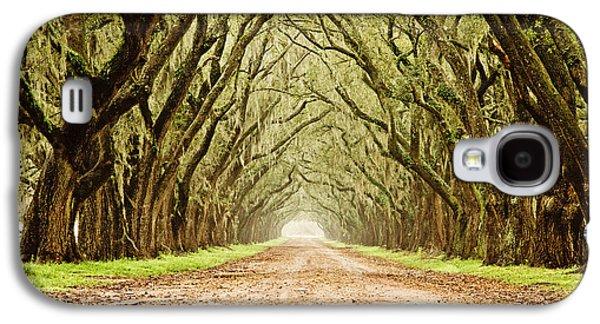 Tunnel In The Trees Galaxy S4 Case by Scott Pellegrin