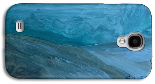 Turbulent Skies And A Glacier  Galaxy S4 Case