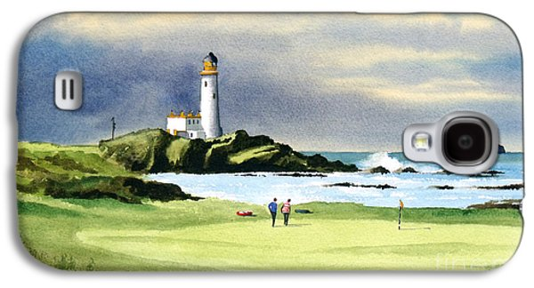 Turnberry Golf Course Scotland 10th Green Galaxy S4 Case