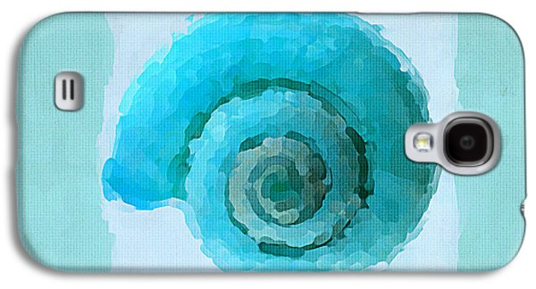Turquoise Seashells IIi Galaxy S4 Case