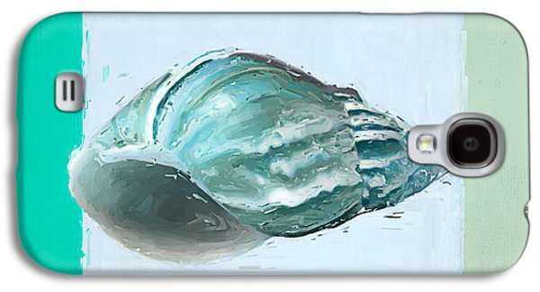 Turquoise Seashells Xiv Galaxy S4 Case