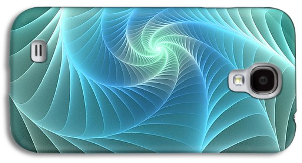 Turquoise Web Galaxy S4 Case