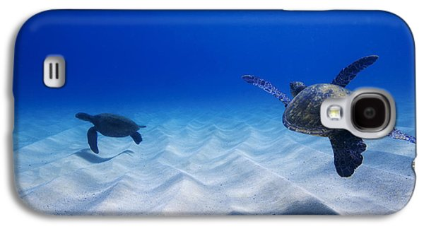 Turtle Pair Galaxy S4 Case by Sean Davey