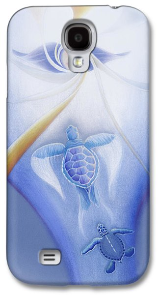Turtles Ascending Galaxy S4 Case by Robin Aisha Landsong