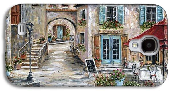 Tuscan Street Scene Galaxy S4 Case