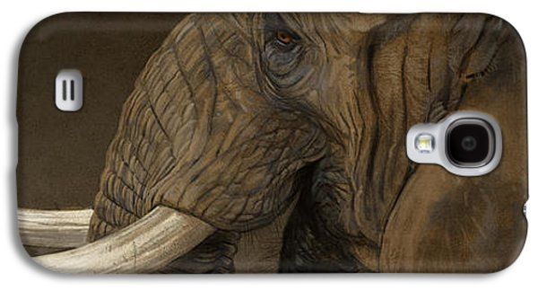 Tusker Galaxy S4 Case by Aaron Blaise