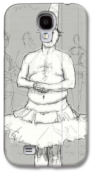 Tutu Man Galaxy S4 Case by H James Hoff