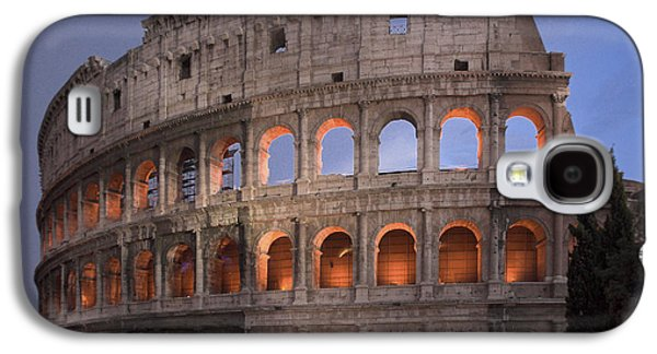 Twilight Colosseum Rome Italy Galaxy S4 Case