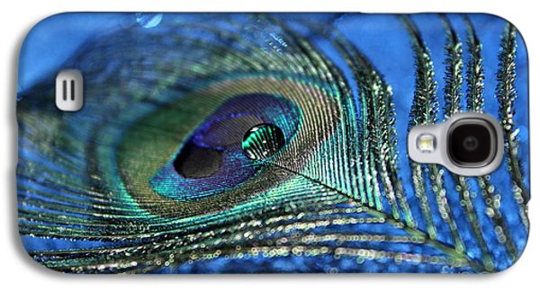 Peacock Galaxy S4 Case - Twilight Escape by Krissy Katsimbras