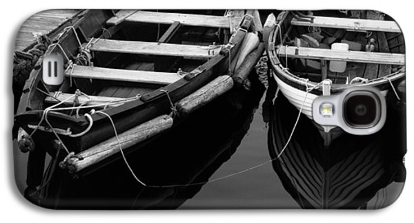 Two At Dock Galaxy S4 Case by Karol Livote