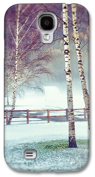 Two Birches Galaxy S4 Case by Silvia Ganora