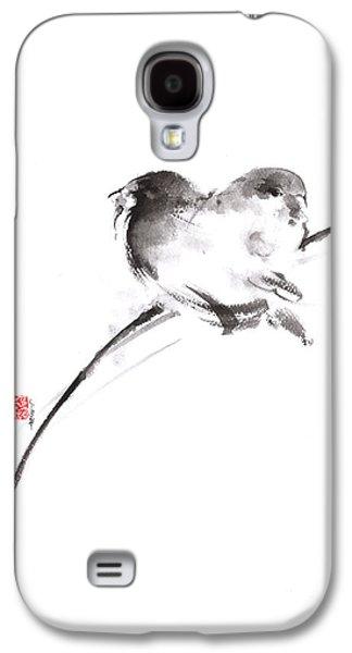 Two Birds Minimalism Artwork. Galaxy S4 Case