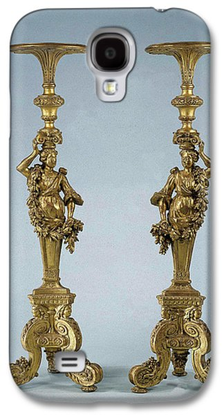 Two Candle Stands Torchères, Anonymous Galaxy S4 Case