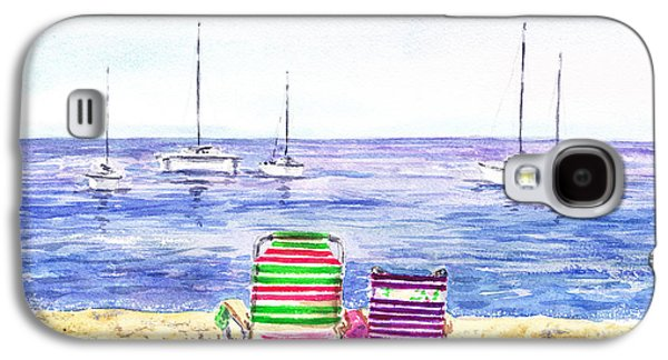 Two Chairs On The Beach Galaxy S4 Case