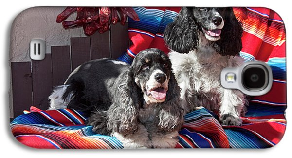 Two Cocker Spaniels Together Galaxy S4 Case by Zandria Muench Beraldo