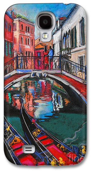 Two Gondolas In Venice Galaxy S4 Case